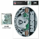 Oakland Raiders Decal 11x17 Multi Use stained Glass Style