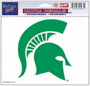 Michigan State Spartans Decal 5x6 Ultra Color