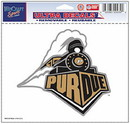 Purdue Boilermakers Decal 5x6 Ultra Color