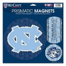North Carolina Tar Heels Magnets 11x11 Prismatic Sheet
