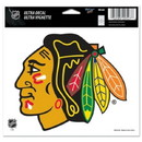 Chicago Blackhawks Decal 5x6 Ultra Color