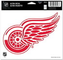 Detroit Red Wings Decal 5x6 Ultra Color