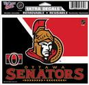 Ottawa Senators Decal 5x6 Ultra Color