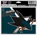 San Jose Sharks Decal 5x6 Multi Use Color