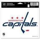 Washington Capitals Decal 5x6 Ultra Color