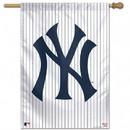 New York Yankees Banner 28x40 Vertical Pinstripes