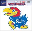 Kansas Jayhawks Decal 5x6 Ultra Color