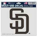 San Diego Padres Decal 5x6 Ultra Color