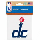 Washington Wizards Decal 4x4 Perfect Cut Color