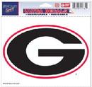 Georgia Bulldogs Decal 5x6 Ultra Color