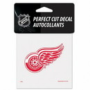 Detroit Red Wings Decal 4x4 Perfect Cut Color