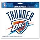 Oklahoma City Thunder Decal 5x6 Ultra