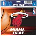 Miami Heat Decal 5x6 Ultra