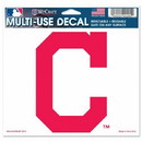 Cleveland Indians Decal 5x6 Multi Use Color