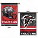 Atlanta Falcons Banner 28x40 Vertical Premium 2 Sided - Special Order