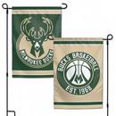 Milwaukee Bucks Flag 12x18 Garden Style 2 Sided Special Order