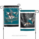 San Jose Sharks Flag 12x18 Garden Style 2 Sided - Special Order