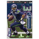 Seattle Seahawks Russell Wilson Decal 11x17 Multi Use - Special Order
