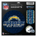 San Diego Chargers Magnets 11x11 Prismatic Sheet