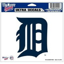 Detroit Tigers Decal 5x6 Multi Use Color