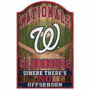 Washington Nationals Sign 11x17 Wood Fan Cave Design