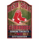 Boston Red Sox Sign 11x17 Wood Fan Cave Design