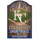 Kansas City Royals Sign 11x17 Wood Fan Cave Design