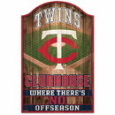 Minnesota Twins Sign 11x17 Wood Fan Cave Design Special Order