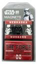 Nebraska Cornhuskers Magnets 2x3 Rectangle 2 Pack