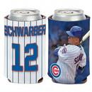 Chicago Cubs Can Cooler Kyle Schwarber Design
