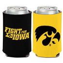 Iowa Hawkeyes Can Cooler Slogan Design Special Order