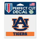 Auburn Tigers Decal 4.5x5.75 Perfect Cut Color