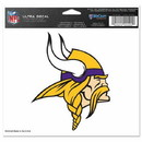 Minnesota Vikings Decal 5x6 Ultra Color