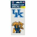 Kentucky Wildcats Set of 2 Die Cut Decals