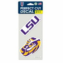 LSU Tigers Set of 2 Die Cut Decals