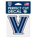 Villanova Wildcats Decal 4x4 Perfect Cut Color Special Order