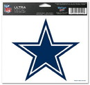 Dallas Cowboys Decal 5x6 Ultra Color Star