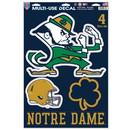 Notre Dame Fighting Irish Decal 11x17 Multi Use
