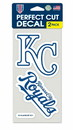 Kansas City Royals Set of 2 Die Cut Decals
