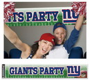 New York Giants Banner Party