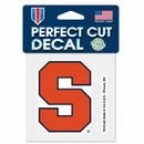 Syracuse Orange Decal 4x4 Perfect Cut Color