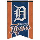 Detroit Tigers Banner 17x26 Pennant Style Premium Felt