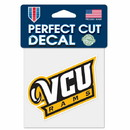 VCU Rams Decal 4x4 Perfect Cut Color Special Order