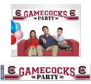 South Carolina Gamecocks Banner Party