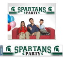 Michigan State Spartans Banner Party