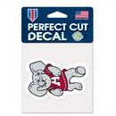Alabama Crimson Tide Decal 4x4 Perfect Cut Color Mascot Design Special Order