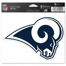 Los Angeles Rams Decal 5x6 Multi Use Color