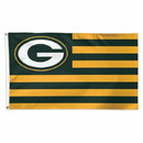 Green Bay Packers Flag 3x5 Deluxe Americana Design