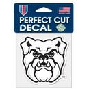 Butler Bulldogs Decal 4x4 Perfect Cut Color