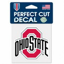 Ohio State Buckeyes Decal 4x4 Perfect Cut Color